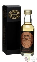"Longrow "" Peated "" Campbeltown single malt whisky by Springbank 46% vol.  0.05 l"