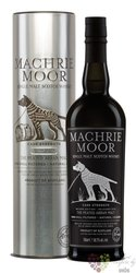 "the Arran  ""Machrie Moor cask "" peated single malt whisky 46% vol.  0.70 l"