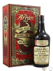 "the Arran Smugglers series II. "" The High Seas "" single malt Arran whisky 55.4%vol.  0.70 l"