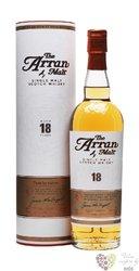 the Arran aged 18 years single malt Arran whisky 46% vol.   0.70 l