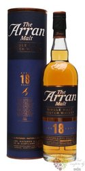 the Arran aged 18 years single malt Arran whisky 46% vol.  0.70 l