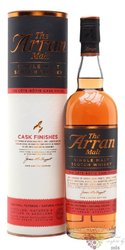 "the Arran cask finishes "" Cote Rotie "" single malt Arran whisky 50% vol.  0.70 l"