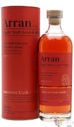 """the Arran """" Amarone cask finish """" single malt Arran whisky 50% vol.  0.70 l"""