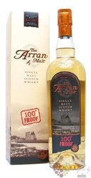 "the Arran "" 100 proof "" single malt Arran whisky 57% vol.  0.70 l"