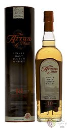 the Arran aged 10 years single malt whisky 46% vol.  0.70 l