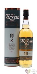 the Arran aged 10 years new release single malt Arran whisky 46% vol.   0.70 l