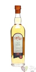 the Arran aged 10 years single malt whisky 46% vol.  0.20 l