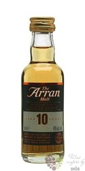the Arran aged 10 years single malt Arran whisky 46% vol.   0.05 l