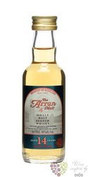 the Arran aged 14 years single malt Arran whisky 46% vol.   0.05 l