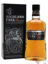 """Highland Park Viking legende """" Pride """" aged 18 years Orkney whisky 43% vol. 0.70 l"""