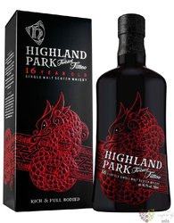 """Highland Park """" Twisted Tatoo """" aged 16 years Orkney whisky 46.7% vol.  0.70 l"""