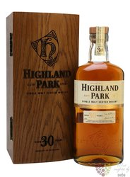 Highland Park 30 years old Orkney whisky 45.7% vol.  0.70 l