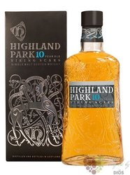 "Highland Park Viking legende "" Scars "" aged 10 years Orkney whisky 40% vol.  0.70 l"