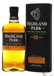 Highland Park aged 12 years single malt Orkney whisky 40% vol.  0.70 l