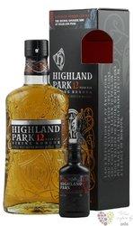 "Highland Park Viking legende "" Honour "" aged 12 years mini set Orkney whisky 40% vol.  0.70 l"