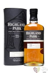 Highland Park 21 years old single malt Orkney whisky 47.5% vol.  0.70 l
