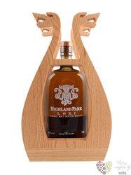 "Highland Park "" Loki "" aged 15 years single malt Orkney whisky 48.7% vol. 0.70 l"