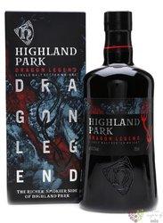"""Highland Park """" Dragon legend """" single malt Orkney whisky 43.1% vol.  0.70 l"""