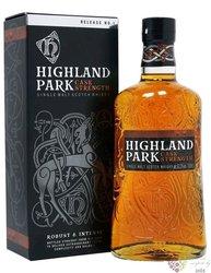 "Highland Park "" Cask strength release no. 1 "" single malt Orkney whisky 63.3% vol.  0.70 l"