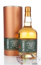 "Auchroisk "" Duthies copper stills "" aged 20 years sngle malt Speyside whisky 46% vol.   0.70 l"