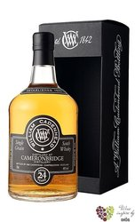 "Auchroisk "" Cadenhead´s authentic "" aged 24 years Speyside whisky 54.5% vol.  0.70 l"