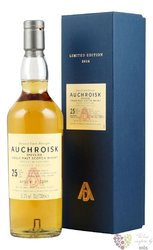 Auchroisk aged 25 years bottled 2016 Single malt Speyside whisky 51.2% vol.  0.70 l