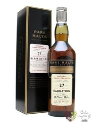 "Blair Athol 1975 "" Rare Malts Selection "" aged 27 years Highland whisky 54.7% vol.    0.70 l"