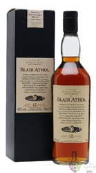 "Blair Athol "" Flora & Fauna Series "" aged 12 years single malt Highland whisky 43% vol.  0.70 l"