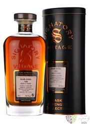 "Blair Athol 1988 "" Signatory Vintage "" aged 27 years Highland whisky 58.9% vol.0.70 l"