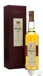 Brora 1978 aged 35 years single malt Highland whisky 49.9% vol.   0.70 l
