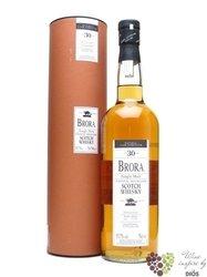 Brora 30 years old single malt Highland whisky 54.3% vol.     0.70 l
