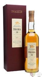 Brora 1977 aged 38 years single malt Highland whisky 58.6% vol.  0.70 l