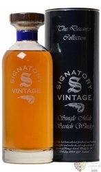 "Clynelish 1995 "" Signatory Vintage Decanter "" Highlands whisky 43% vol.  0.70 l"