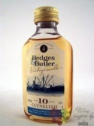 "Clynelish "" Hedges & Butler "" aged 10 years Highland whisky by Ian Macleod 43% vol.    0.05 l"