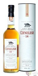 Clynelish 14 years old single malt coastal Highland whisky 46% vol.  0.70 l