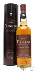 "Clynelish 1992 "" Distillers edition "" double matured Coastal Highland whisky 46% vol.  0.70 l"