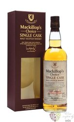 "Dalmore 1989 "" Mackillops Choice "" Single malt Highland whisky 51.2% vol.   0.70 l"