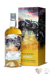 """Dalmore 1990 """" Silver Seal """" aged 25 years Single malt Highland whisky 55.5% vol.   0.70 l"""