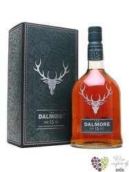 Dalmore 15 years old single malt Highland whisky 40% vol.    1.00 l