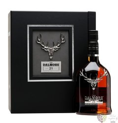 Dalmore 21 years old single malt Highland whisky 42% vol.   0.70 l