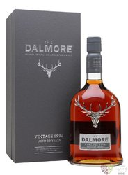 "Dalmore 1996 "" Vintage Port Collection "" aged 20 years single malt Highland whisky 45% vol.  0.70 l"