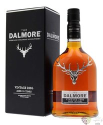"Dalmore 2006 "" Vintage "" aged 10 years single malt Highland whisky 46% vol.  0.70 l"