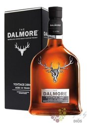 "Dalmore 2007 "" Vintage "" aged 10 years single malt Highland whisky 46% vol.  0.70 l"