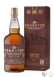 "Deanston "" Oloroso cask "" aged 20 years single malt Highland whisky 55.3% vol. 0.70 l"