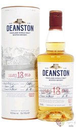 Deanston 18 years old single malt Highland whisky 46.3% vol.   0.70 l