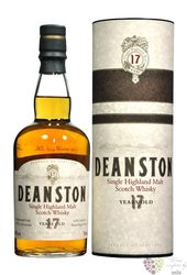 Deanston 17 years old single malt Highland whisky 40% vol.   1.00 l