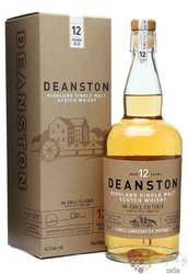 Deanston 12 years old single malt Highland whisky 46.3% vol.  0.70 l