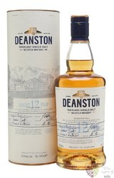 Deanston 12 years old single malt Highland whisky 40% vol.   1.00 l