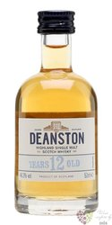Deanston 12 years old single malt Highland whisky 46.3% vol.   0.05 l