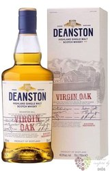 "Deanston "" Virgin oak "" unchillfiltered single malt Highland whisky 46.3% vol. 0.70 l"